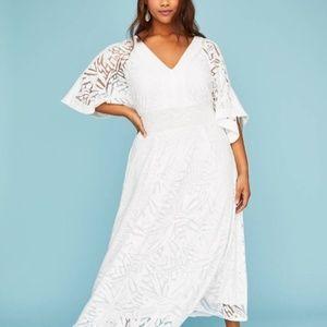 Lane Bryant Kimono Sleeve Dress - Size 18/20